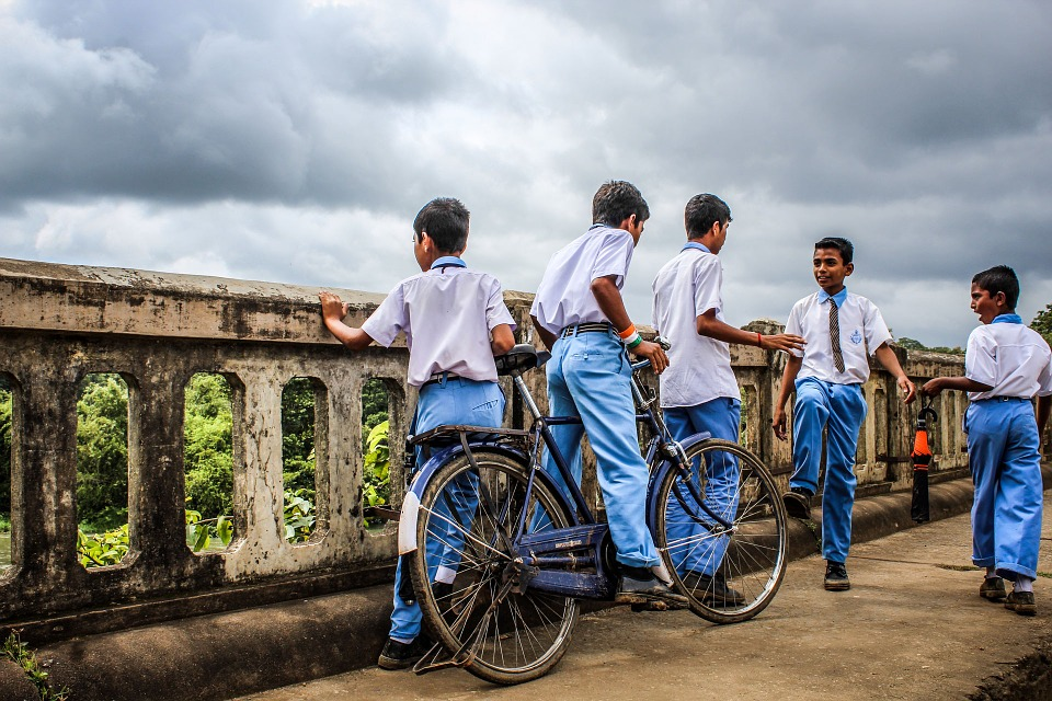 Rural students of India